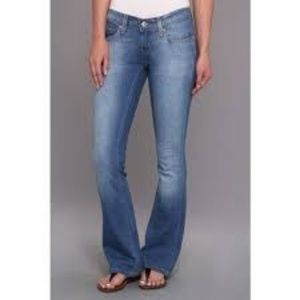 Levis Flare Ultra Low Rise Jeans Juniors 17 NWT
